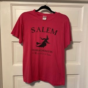 Vintage Salem, MA Witch T-Shirt